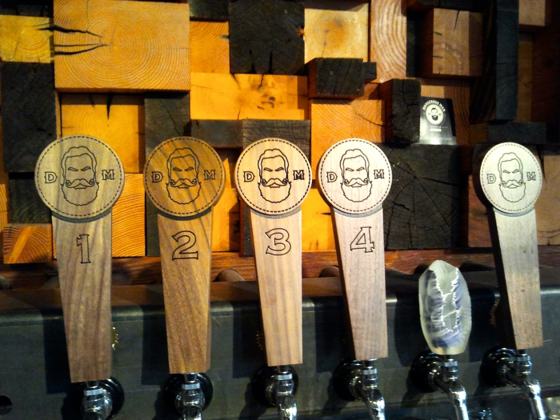 Tap Handles and scrap - put beards on them