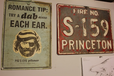 Wall hangings from Grandpa Keeler AKA The Red Jay.  Essentially mojo items.