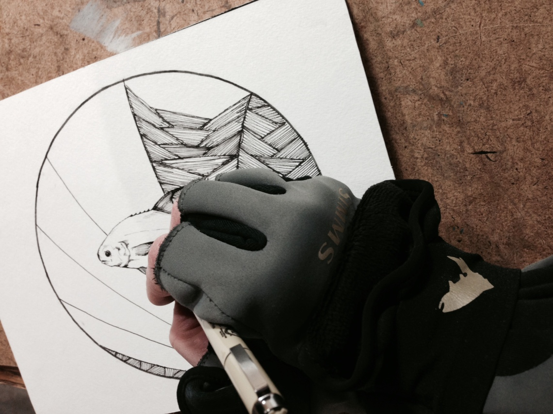 Thank you Simms for these great gloves so I can draw a permit in my freezing basement