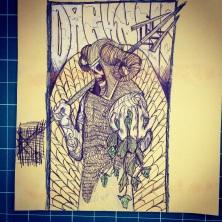 Darkness sketch #2