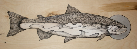 "Original - ""Slint's Steelhead"" 