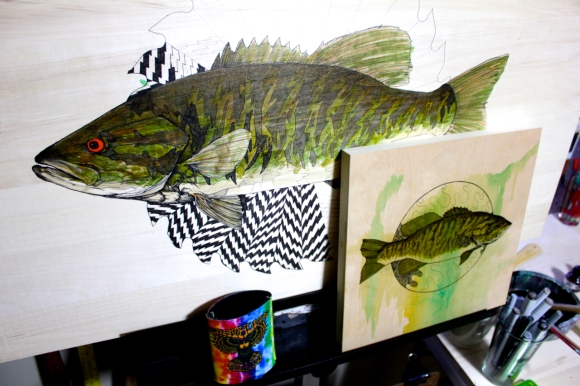 WIP - smallies are always in the mix...